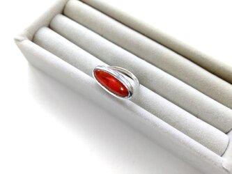 七宝リング(バスケット)赤の画像