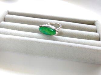 七宝リング(バスケット)緑の画像