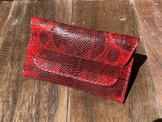 リングリザードのベルト付き2層カードケースの画像