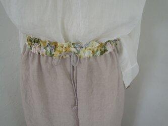 Flora easy pantsの画像