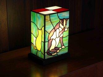 ステンドグラス・ペロネコあんどんの画像