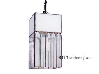 ステンドグラスランプ C210509-Wの画像