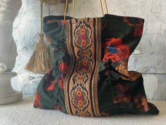 vintage cloth  bag (g)の画像