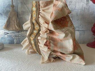 vintage cloth  bag (i)の画像