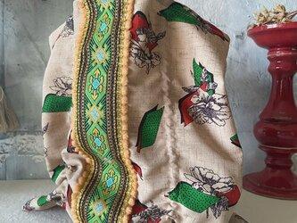 vintage cloth  bag (j)の画像