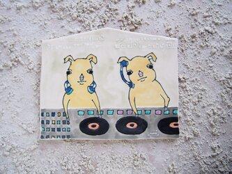 タイルの動物図鑑 DJブタ兄弟の画像