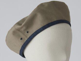 【型紙】レシピなし コンパクトパイピングベレー compact piping beretの画像