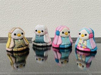木目込人形 ミニアマビエの画像