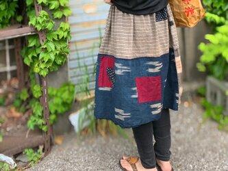 襤褸リメイクスカートの画像