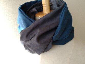 21-03 保冷剤入れ付スカーフ風日除けネックウォーマーの画像