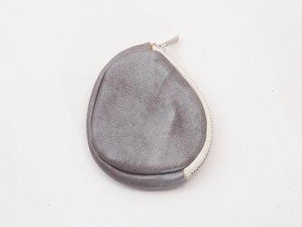 cowleather wallet (シルバー)/小銭入れ/koishi_sの画像