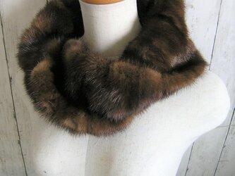 ¶ new antique fur ¶ デミバフミンクnejiri別Ver.スヌード「felios」の画像