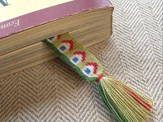カード織りブックマーク ::små hus::の画像
