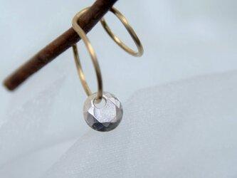 《受注制作》ダイヤモンドモチーフ/ダブルラインイヤーカフ左耳用の画像