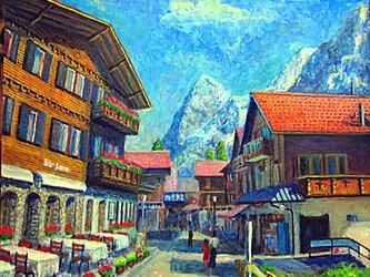 崖の上にある村 ミゥ-レンの画像