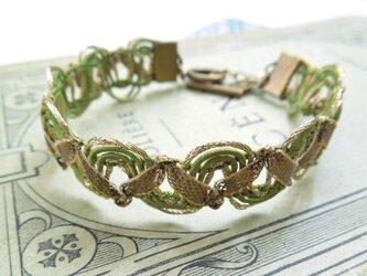 Luteruブレスレット[green ribbon]の画像