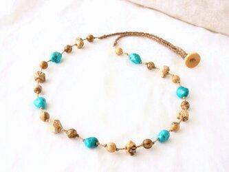 Earth&Ocean(necklace)の画像