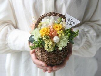 Flower basket (S) Yellowの画像