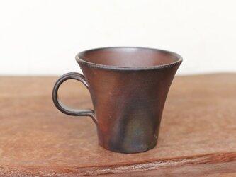 備前焼 コーヒーカップ(中) c1-090の画像