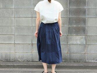 トリプルガーゼのスカート        ..4686の画像