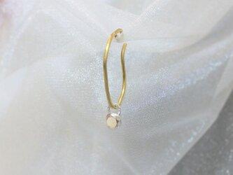 《受注制作》小粒ダイヤモンドモチーフ/イヤーカフ片耳用の画像