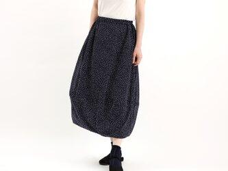 バルーンスカート(ネイビーx白)#367の画像