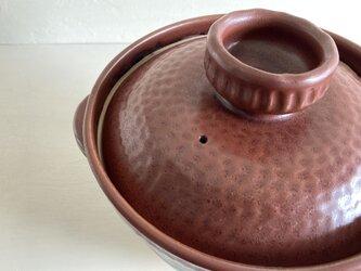 ご飯用土鍋 3合炊【直火対応】の画像