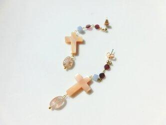 Cross -rutile quartz-の画像