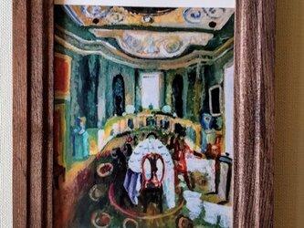 複製画・額装「異国の部屋3」壁掛け・写真立ての画像