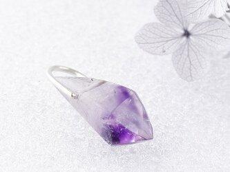 ~高貴な紫~ ファントム・アメジストのペンダント 1の画像