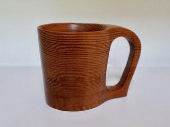 吉野杉のマグカップの画像