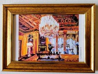 複製画・額装「シャンデリア2」壁掛け・写真立ての画像
