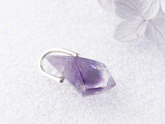 ~高貴な紫~ ファントム・アメジストのペンダント 2の画像