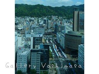 幻の街角 「フラワーロード」「街のある暮らし」 2L判サイズ光沢写真縦 写真のみ 神戸風景写真 神戸六甲 送料無料の画像