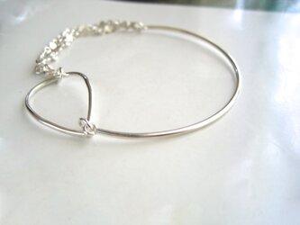 Bracelet・銀の輝き/雫のかたちの画像