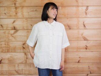 エシカルヘンプオーバーサイズシャツ 7号の画像