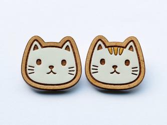 『田田製作所』手作り プローチ  猫の画像