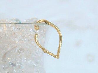 《在庫入荷》Lemonラインイヤーカフ真鍮 片耳用 の画像
