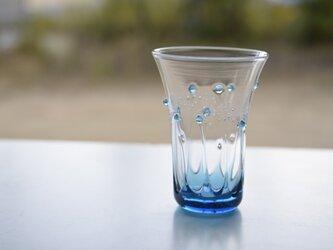 雫のグラス(スカイブルー)の画像