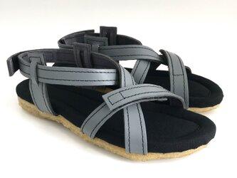 BELT sandals #natural leather #受注製作 #天然素材の画像