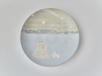 取皿 [ シロクマ 親子 ]の画像