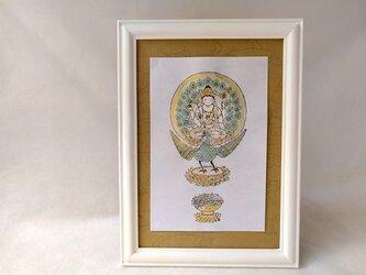 銅版画 孔雀明王 wh101の画像