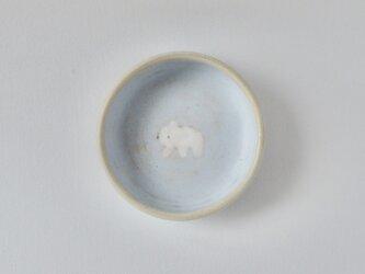 小皿 ( 深め ) - シロクマ こぐま Bの画像