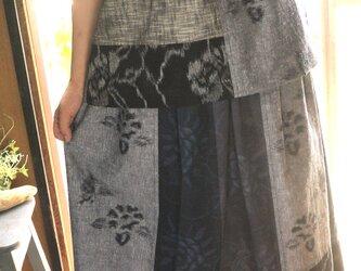 久留米絣セットアップの画像