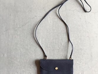 VINTAGE ACCORDION POUCH NAVYの画像