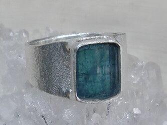 インディゴライト*925 ringの画像