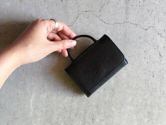 FORMAL CARD WALLET BLACKの画像