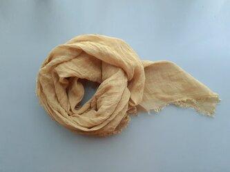 linen shawl #zakuroの画像
