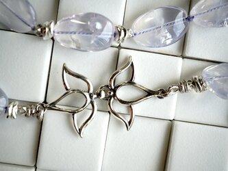 スコロライトとお花フックネックレスの画像