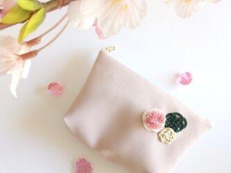 桜のファスナーポーチ -さくらさくらーの画像